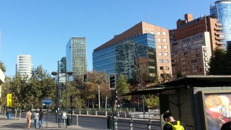 Buildings in Santiago, Chile