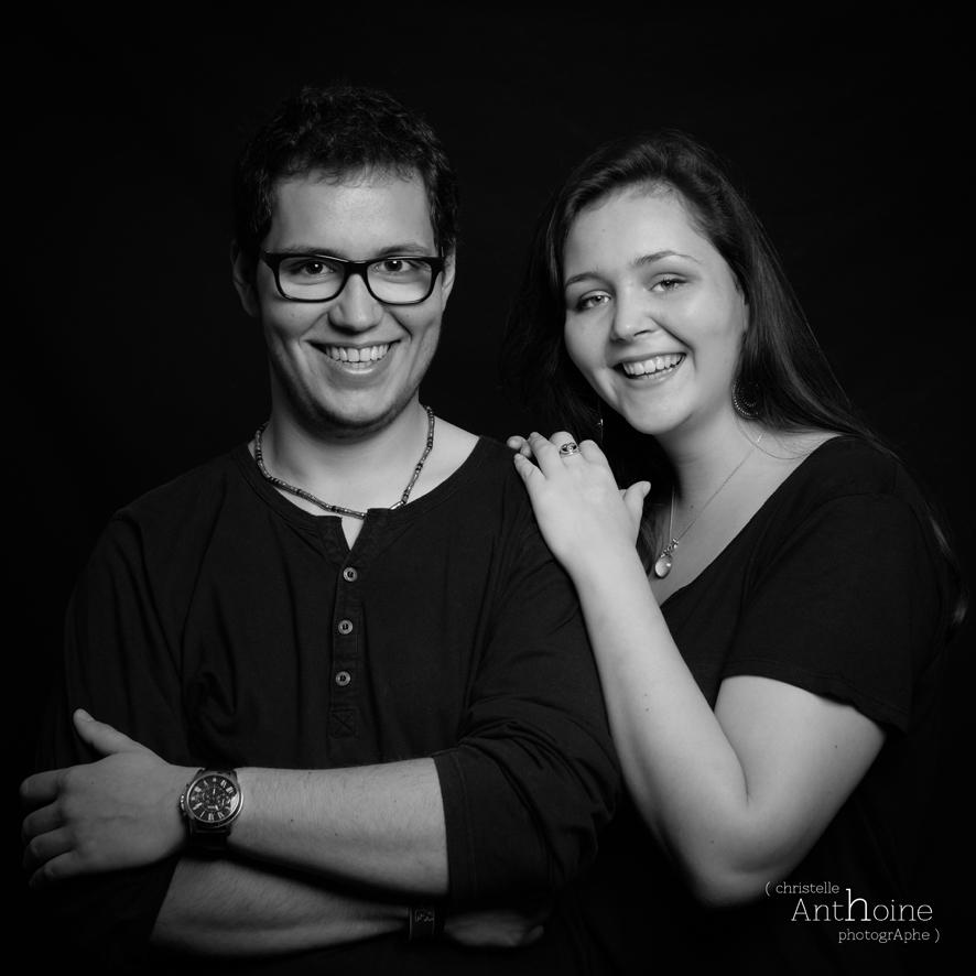 Sance photo en famille frre et soeur SaintBrieuc Photographe portrait grossesse mariage