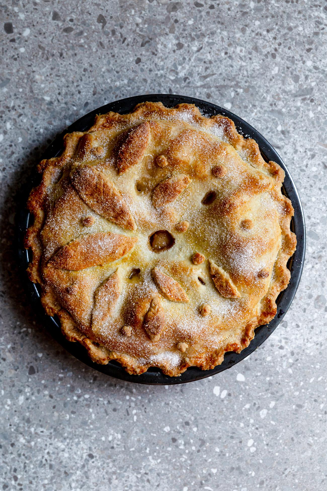 Recette De Tarte Au Sucre De Grand Mere : recette, tarte, sucre, grand, Tarte, Pommes, Mère-Grand, Christelle, Flabbergasting