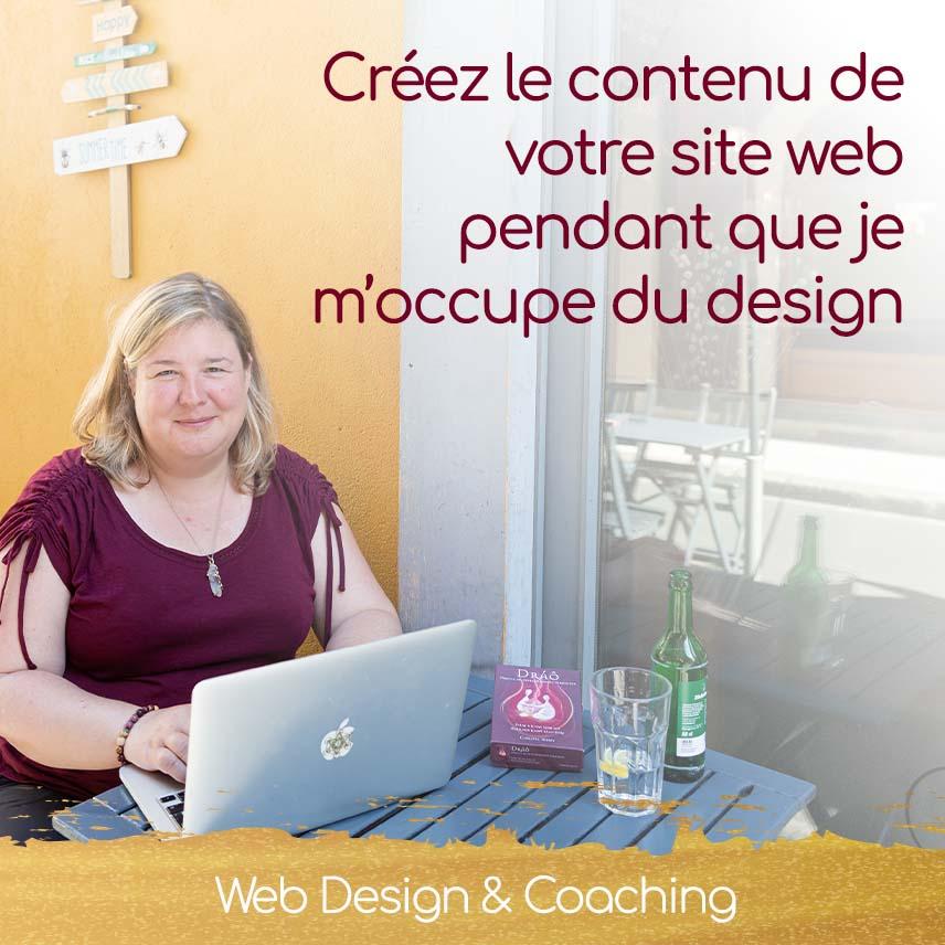 Christel Mesey - Apprenez à créer le contenu de votre site web pendant que je m'occupe de son design