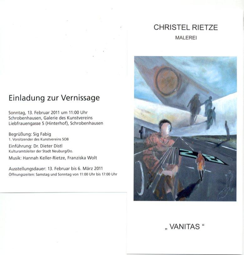 Einladung Vanitas