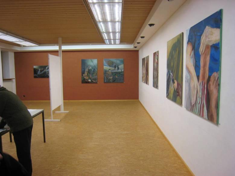 VANITAS Einzelausstellung in Schrobenhausen 2011
