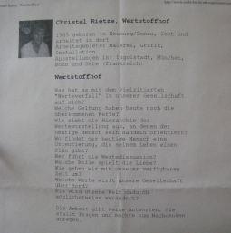 1997 Reithalle und Exerzierhaus im Klenzepark Ingolstadt, Wertstoffhof, Installation C.R.
