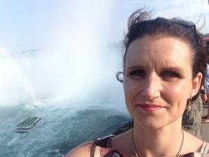 Christel Rosenkilde Christensen at Niagara Falls