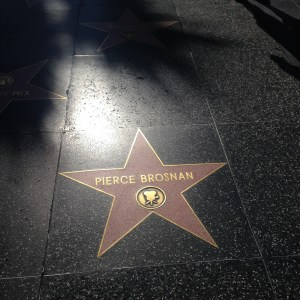 Pierce Brosnan Starwalk Hollywood