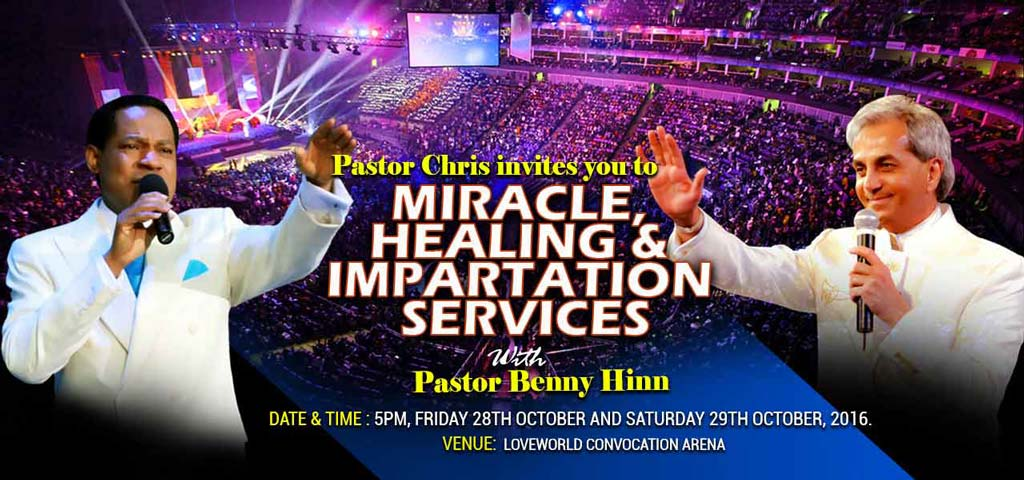 Miracle Healing and Impartation Service with Pastor Chris and Pastor