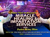 Pastor chris and Pastor Benny Hinn Healing Crusade