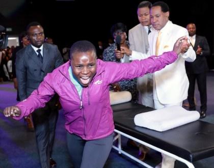 Pastor Chris Healing The Sick