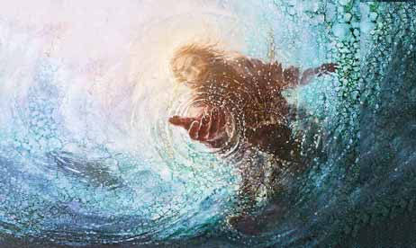 Jesus-reaching-into-water