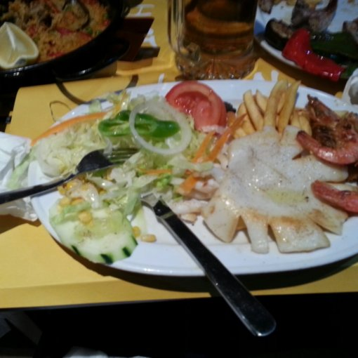 middag med seafood