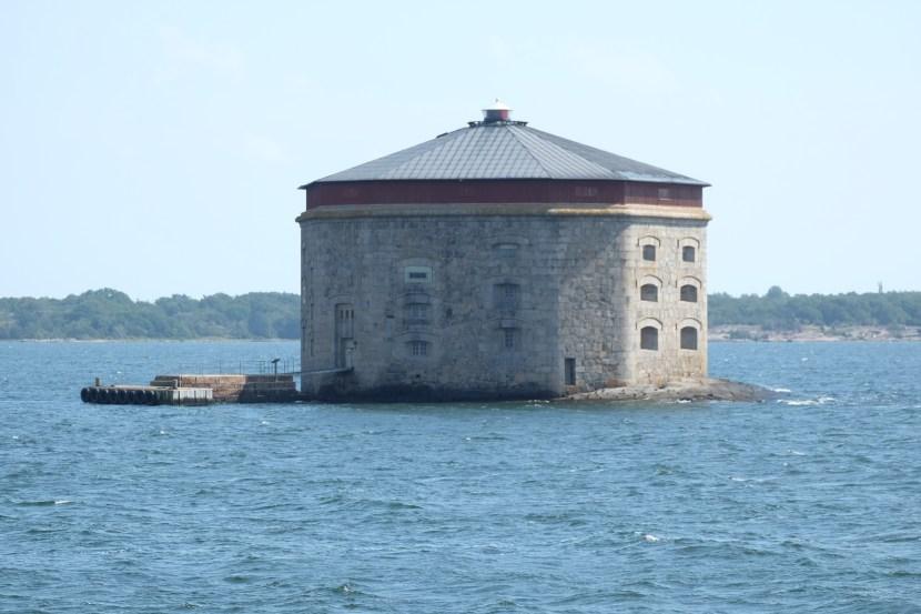 kruttornet utanför Karlskrona