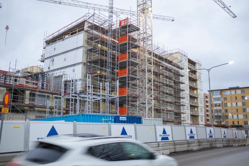 husbygge i Jakobsberg