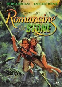 Poster art for the film Romancing the Stone