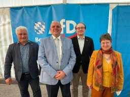 Aufstellungsversammlung der AfD Bayern in Greding zur Bundestagswahl am 1. Wochenende