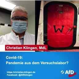 Christian Klingen: Pandemie aus dem Versuchslabor?