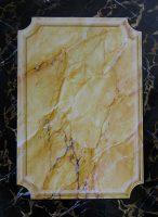 Imitation marbre jaune de Sienne