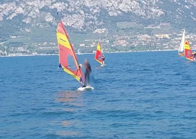 Windsurfer am Gardasee