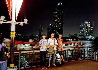 Asiatique Skyline in Bangkok