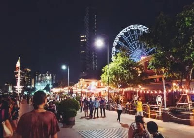 flanieren am Asiatique Riverfront
