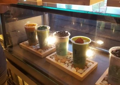 Matcha Ice im Siam Center