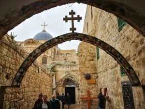 Via Dolorosa Station 9