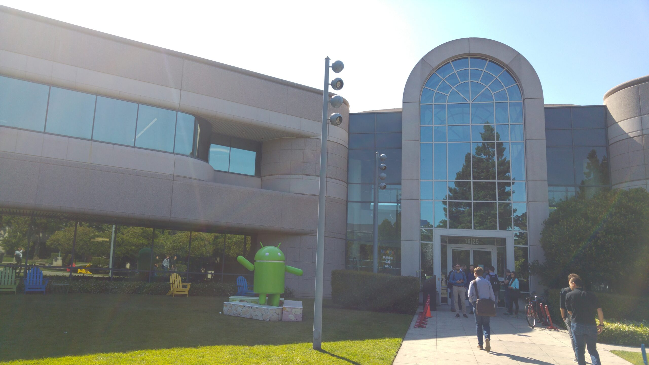 Google Visitor Center in Mountain View