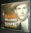 HANK WILLIAMS – Unreleased Recordings: Gospel Keepsakes – CD – d