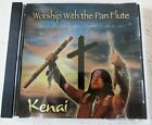 Pan Flute CD Kenai Worship With Native American Indian Christian Music Rare 2005
