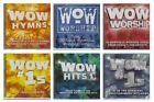 WOW 6pc CD LOT HYMNS WORSHIP #1s HITS ~ VARIOUS CHRISTIAN ARTISTS ~ EUC (x6)