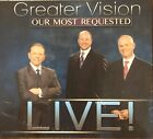 Greater Vision Our Most Requested LIVE Brand NEW CD Christian Music Gospel
