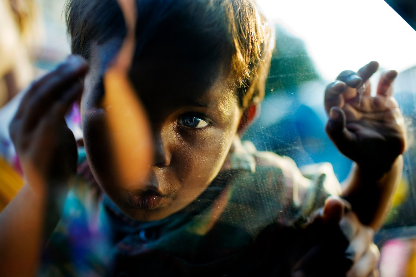 The class divide is starkest in cities like Bombay and Bangalore, where million-dollar apartments overlook million-population slums. UNICEF estimates that there are 11 million street children in India - at least 125,000 children live on the streets of Mumbai.