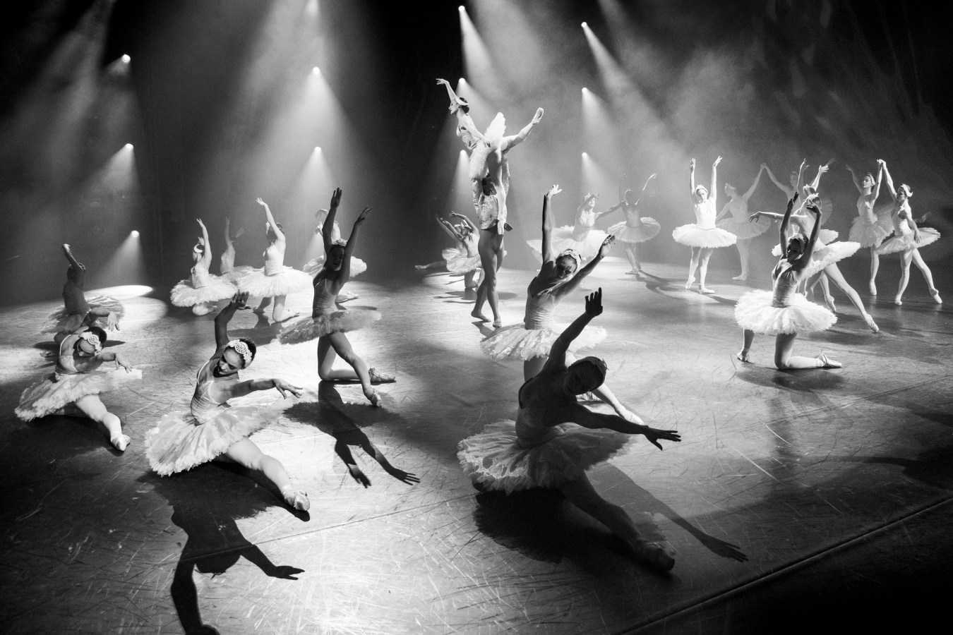 """The 2015 version of Swan Lake at the Opera House Main Stage was a total rework by artistic director Nikolaj Hübbe and deputy director Silja Schandorff. They used all dancers in the corpse, and even had to hire dancers from outside Denmark to fill the huge stage. The show was praised for its cinematic interpretation """"in a futuristic setting that bring to mind not only classic fairy tales but also sci-fi, Star Wars and even rock shows."""""""