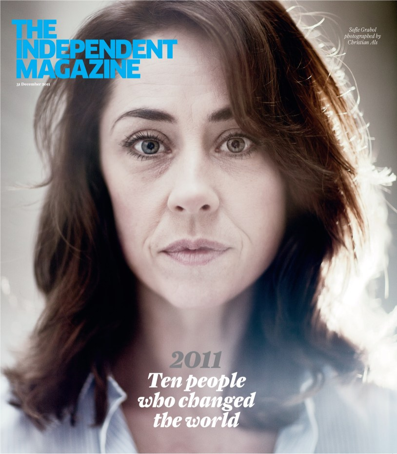 Sofie Gråbøl in The Independent Magazine