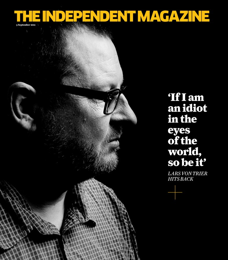 Lars von Trier in The Independent Magazine