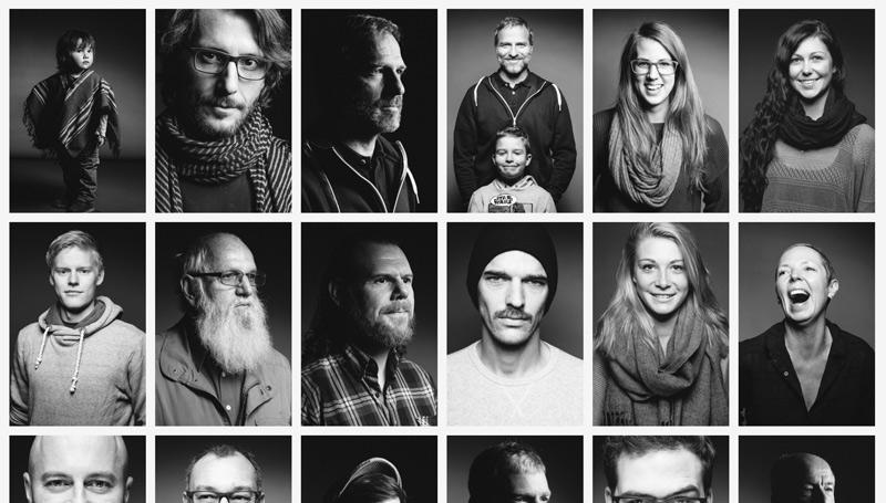 230 Portraits in 2 Tagen