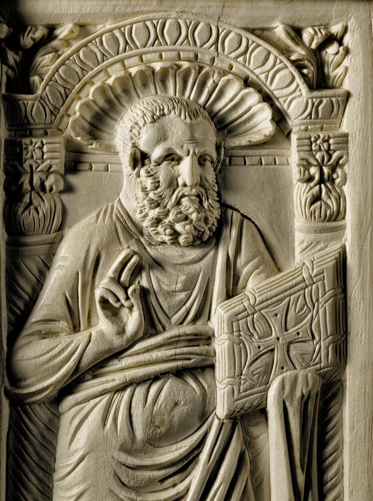 Chair and Archbishop Maximianus of Ravenna Chair