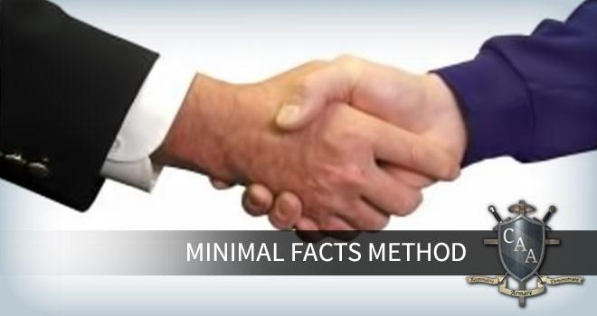 Minimal-Facts-Method