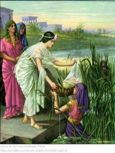 Baby Moses and Daughter of Pharaoh