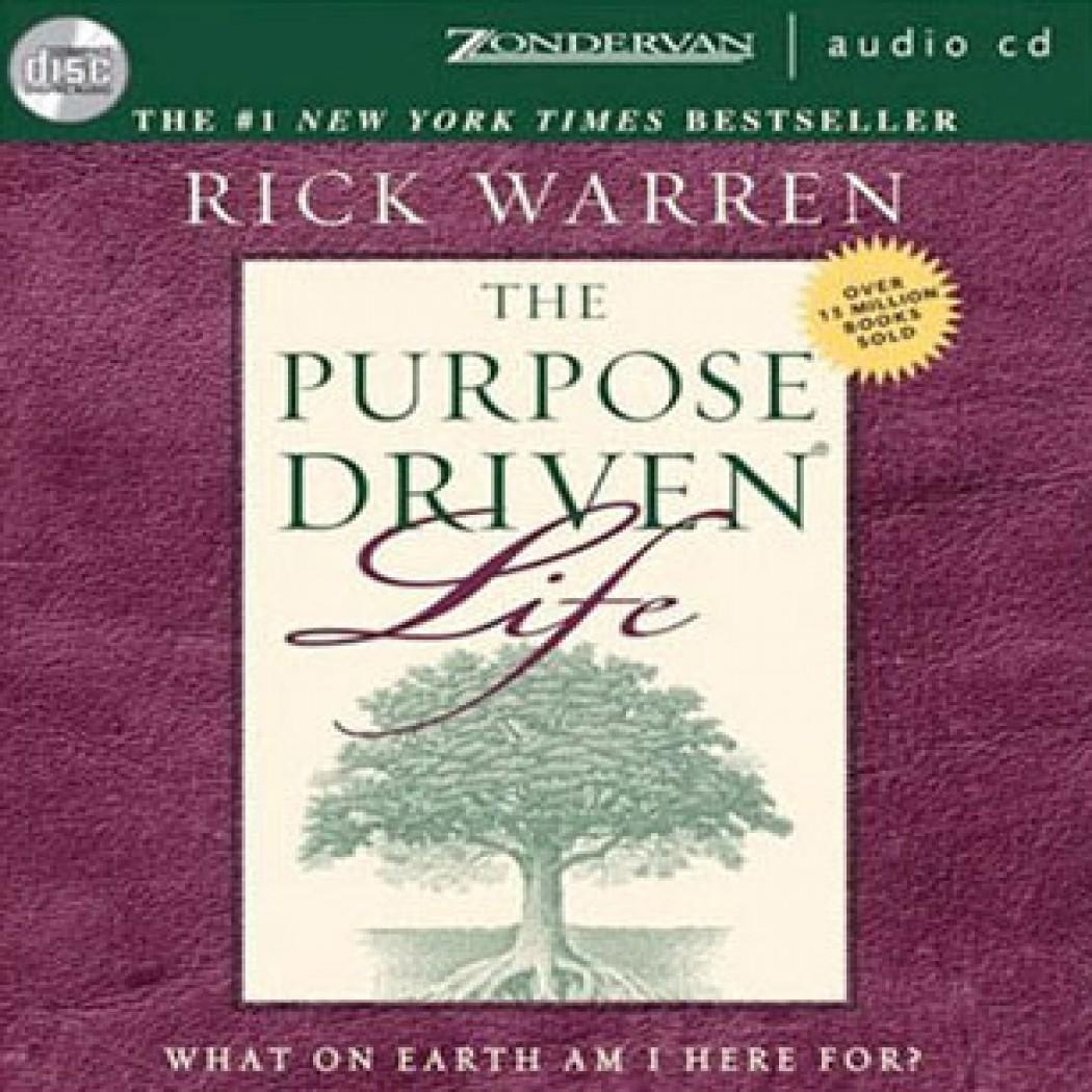 The Purpose Driven Life By Rick Warren Audiobook Download