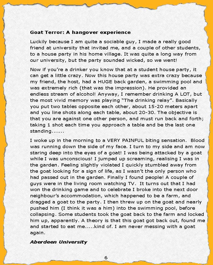 Story Essay Examples Funny Story Essay