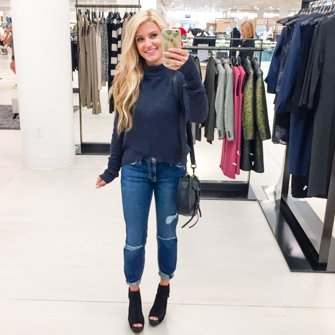 CROPPED SWEATER, CURRENT ELLIOT JEANS, PEDRO GARCIA BOOTIES, ANNIVERSARY SALE, NSALE, NORDSTROM