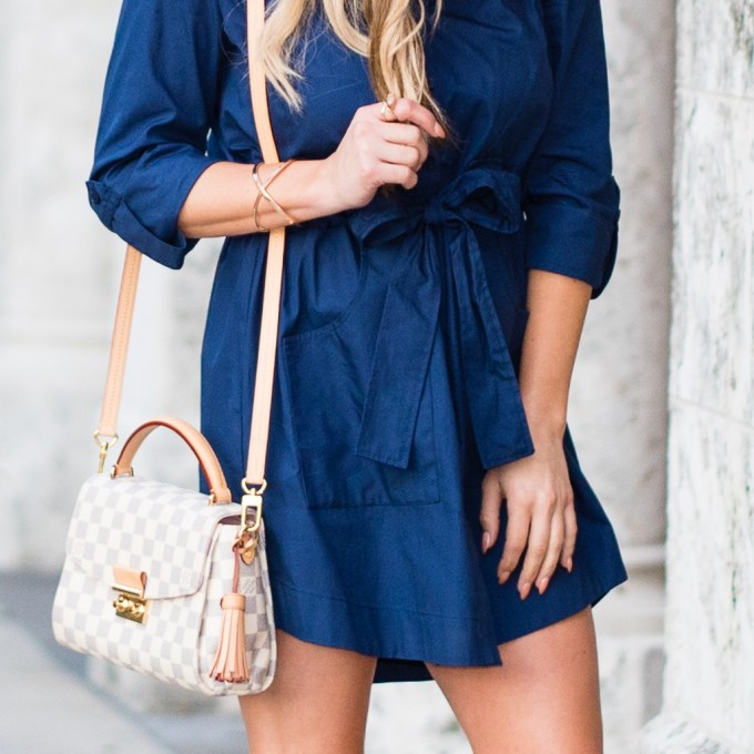 shirtdress, navy, jeffrey campbell, wedges, loafers, louis vuitton, rag and bone, quay australia, mirrored aviators