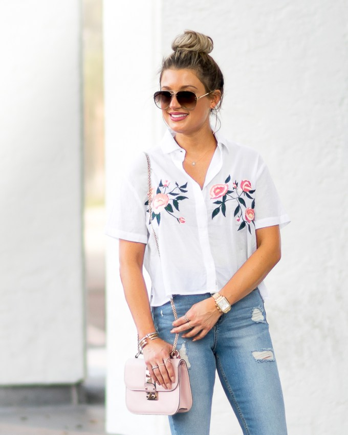 ripped denim celine aviators