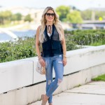 chelsea28 navy topshop ripped denim