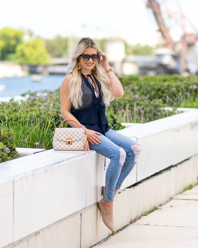 topshop ripped denim kristin cavallari shoes