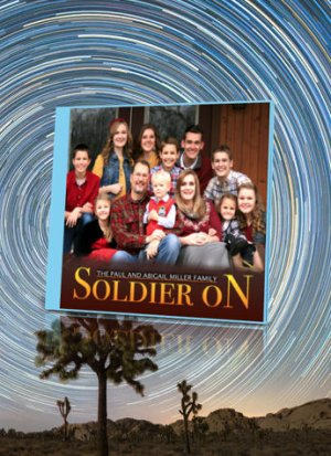 Soldier on Abigail Miller