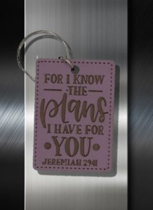 Key ring For I know the Plans I have for You Jeremiah 29 11 B