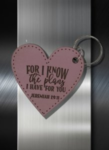 Key ring For I know the Plans I have for You Jeremiah 29 11