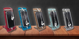 Shelf of cellphone Stands