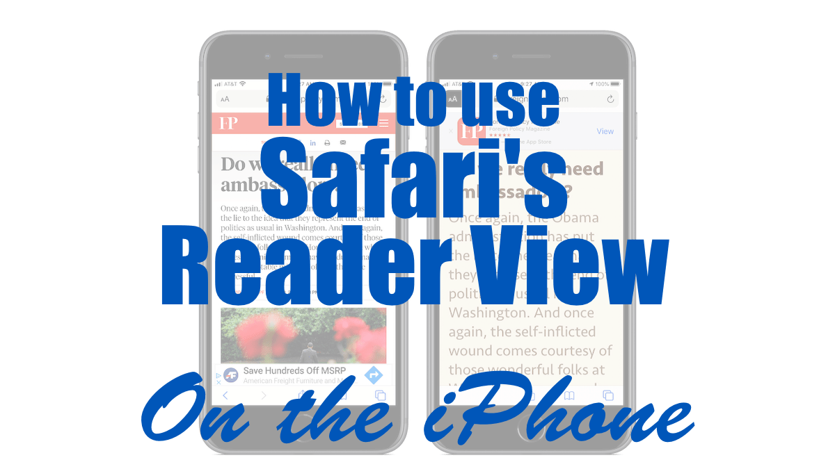 Safari's Reader View